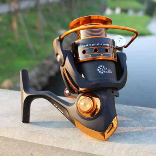 Yumoshi спиннинговая рыболовная катушка 12BB + 1