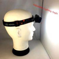 MINGRAY Дешевый светодиодный аккумуляторный налобный водостойкий фонарик 410 люмен