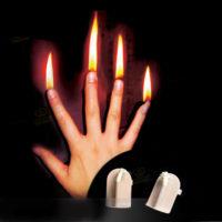 King Magic Finger Fire Напальчники для фокусов с горящими пальцами