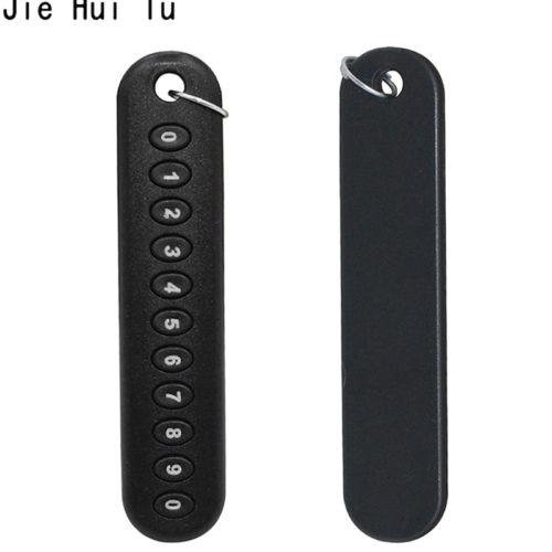 Брелок с номером телефона на ключи