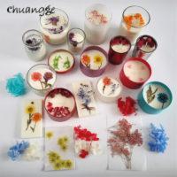 Сушеные цветы для изготовления ароматических свечей или мыла