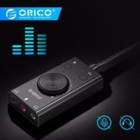 ORICO SC1 Sound Card внешняя звуковая USB карта