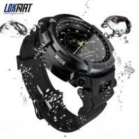 LOKMAT 5ATM Smart Watch Sport Умные водостойкие спортивные Bluetooth смарт часы