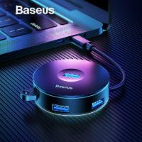 USB-хаб Baseus (1 х USB3.0 + 3 х USB2.0) с разъемом подключения USB3.0 или Type-C на выбор