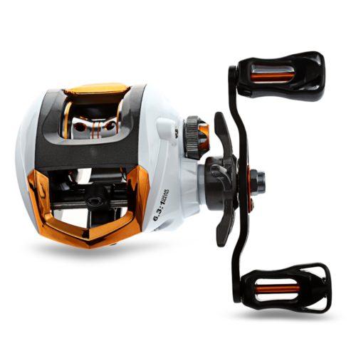 Exbert 12 + 1 рыболовная катушка с магнитным тормозом, для левой или правой руки