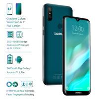 DOOGEE Y8 смартфон мобильный телефон 16 Гб, 6,1″, 3400 мАч
