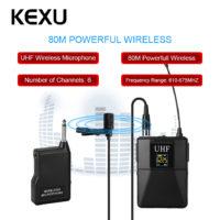 Беспроводная система приемник-передатчик-петличка KEXU