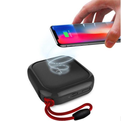 MIPOW Портативное мини зарядное устройство power bank с функцией беспроводной зарядки 10000 мАч
