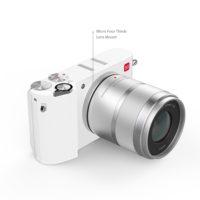 YI M1 Беззеркальная цифровая камера фотоаппарат 20MP