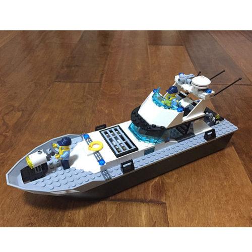 Lepin (Лепин) 02049 конструктор Полицейская лодка