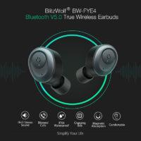 Беспроводные Bluetooth наушники Blitzwolf BW-FYE4 V5.0