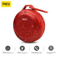 MIFA F10 Портативная беспроводная водонепроницаемая Bluetooth колонка динамик с карабином