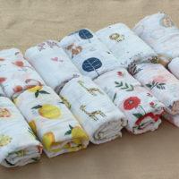 Муслиновая пеленка для новорожденных