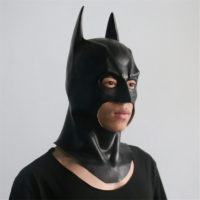 Косплей латексная маска Бэтмена на Хэллоуин