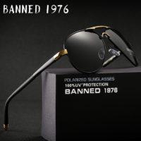 Солнцезащитные мужские очки Banned 1976
