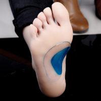 Подушечка-супинатор для профилактики продольного плоскостопия