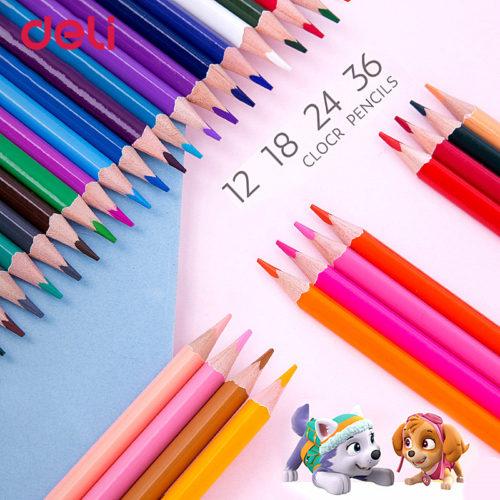 Набор цветных карандашей Щенячий патруль