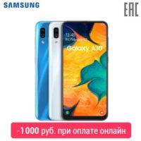 Смартфон Samsung Galaxy A30 3+32GB (2019)