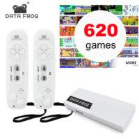 Data Frog игровая консоль 8 бит на 620 игр с двумя джойстиками