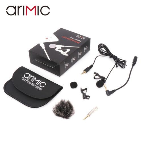 Ulanzi Arimic Lavalier Microphone Петличный всенаправленный конденсаторный микрофон Clip-on