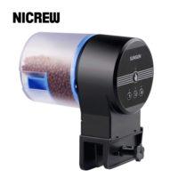 Nicrew sunsun автоматическая подача корма в аквариуме