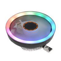 Горизонтальный кулер с подсветкой для процессора