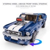Lepin (Лепин) 21047 Конструктор Creator Ford Mustang (Копия Lego) 1648 деталей