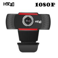 HXSJ USB веб-камера 1080P HD 2MP с микрофоном для компьютера