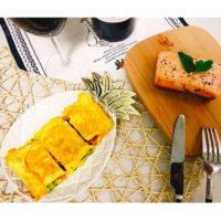 Декоративная золотая керамическая тарелка лоток в виде ананаса