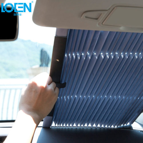 Выдвижная шторка на стекло автомобиля 46/65/70/80 см