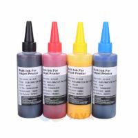 Сублимационные чернила для струйных принтеров 4 цвета по 100 мл B/C/M/Y