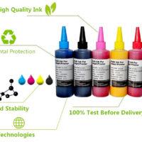 Сублимационные чернила для струйных принтеров 6 цветов по 100 мл BK/C/LC/M/LM/Y