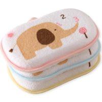 Супер мягкая детская мочалка для купания новорожденных