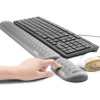 Boona Коврик для клавиатуры и мышки для поддержки запястья