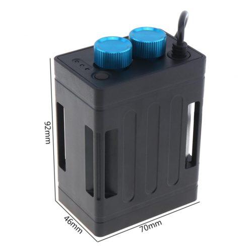 Аккумуляторный блок на 6 аккумуляторов 18650 (можно использовать для велофары)