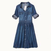Джинсовые платья и сарафаны с Алиэкспресс - место 10 - фото 4