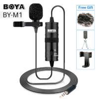 BOYA BY M1 Петличный всенаправленный конденсаторный микрофон