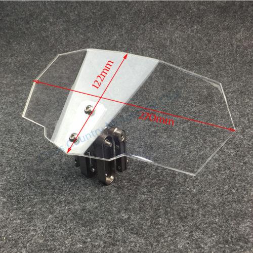 Дефлектор ветрового стекла на мотоцикл