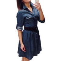 Джинсовые платья и сарафаны с Алиэкспресс - место 10 - фото 6