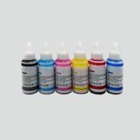Чернила для струйных принтеров 70 мл 6 шт BK/C/LC/M/LM/Y