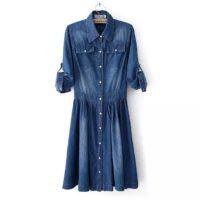 Джинсовые платья и сарафаны с Алиэкспресс - место 10 - фото 2