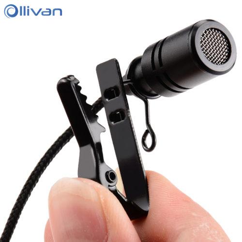 Ollivan всенаправленный петличный микрофон с зажимом 2.5 м