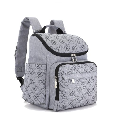 Рюкзак органайзер для молодой мамы с креплениями на коляску, карманами для бутылочек, пеленок и подгузников