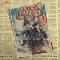 Крафтовые постеры Bioshock Infinite