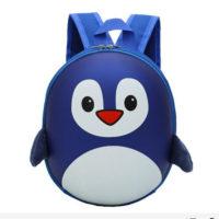 Яркий детский водонепроницаемый 3D рюкзак в виде пингвина (высота 27 см) для мальчиков и девочек