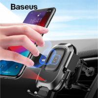 Подборка держателей для телефона с беспроводной зарядкой в автомобиль на Алиэкспресс - место 6 - фото 1