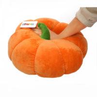 Мягкая подушка игрушка в виде тыквы