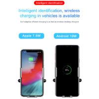 Подборка держателей для телефона с беспроводной зарядкой в автомобиль на Алиэкспресс - место 6 - фото 5