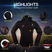 Mountainpeak Походные водонепроницаемые ветрозащитные куртка и брюки
