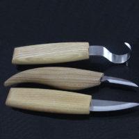 Набор инструментов для резьбы по дереву 3 шт.